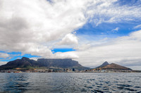 Cape Town City Bowl from the sea